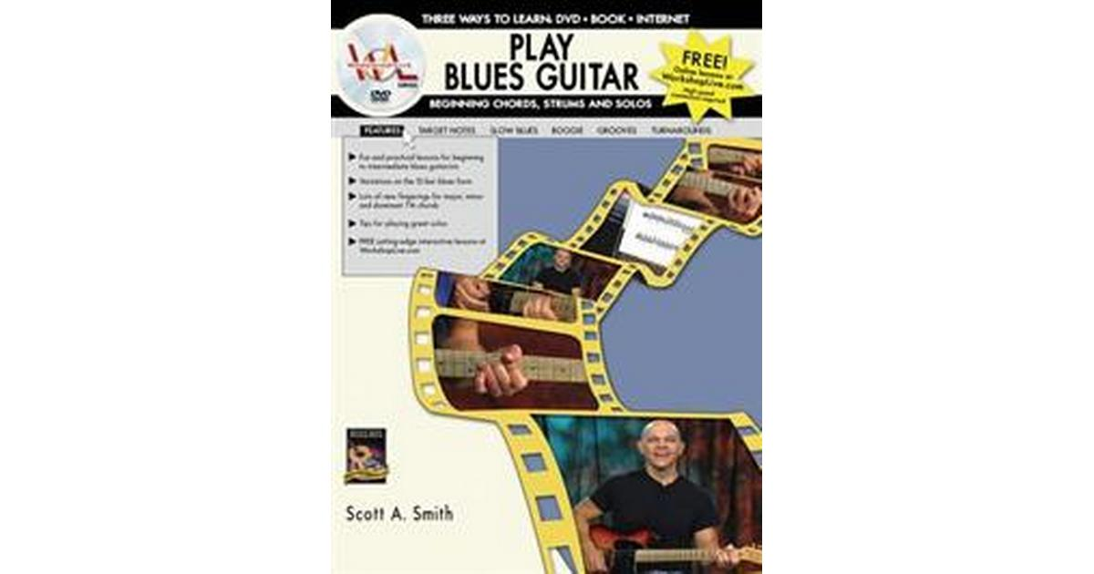 play blues guitar beginning chords strums and solos three ways to learn dvd book. Black Bedroom Furniture Sets. Home Design Ideas
